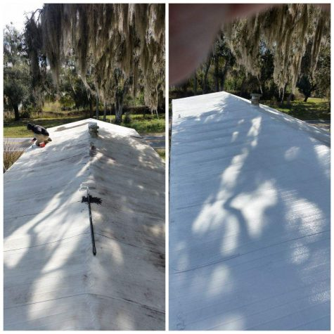 Mobile Home Roof Cleaning and Sealing Oconomowoc